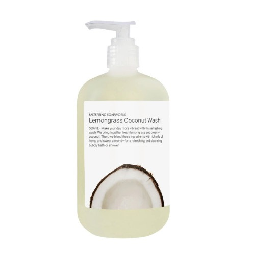 Lemongrass Coconut Wash