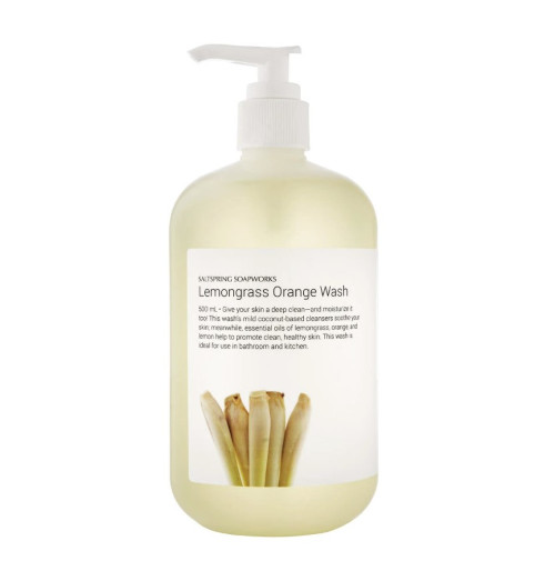 Saltspring Lemongrass Orange Wash
