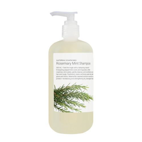 Rosemary Mint Shampoo Bottle